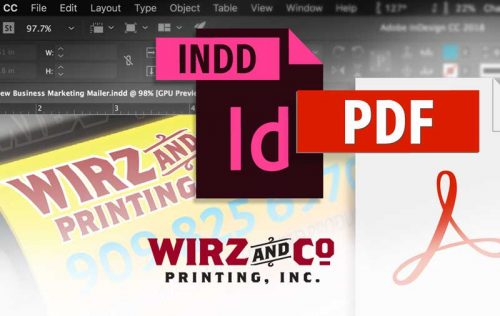 How to submit press-quality PDFs from InDesign